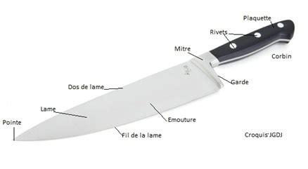 choisir couteau cuisine choisir matériel les couteaux de salle et de cuisine