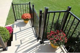 Outdoor Metal Handrails For Stairs by Metal Stair Railings Exterior Images