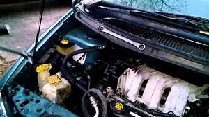97 Dodge Caravan Serpentine Belt Keeps Slipping Off When It Rains