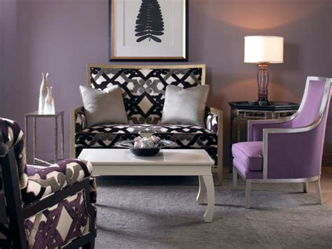 grey and purple living room paint interior design colors grey as a neutral from la maison