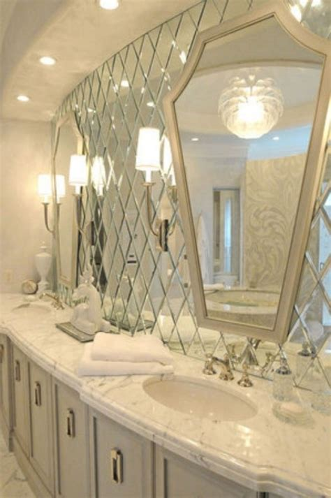 Mirror Tiles Bathroom by 33 Amazing Mirror Bathroom Tiles For Bathroom Looks