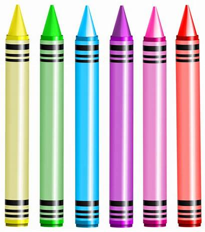 Crayon Crayons Transparent Clip Clipart Background Crayola