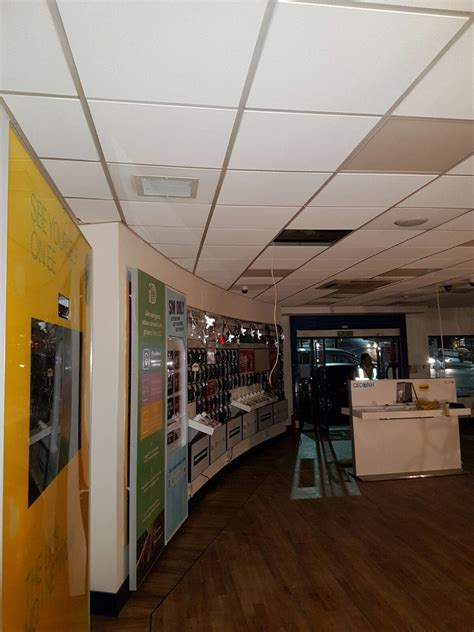 grid ceiling repairs after damage carphone warehouse
