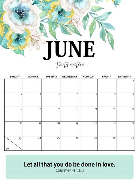 blank june  calendar word template magic calendar