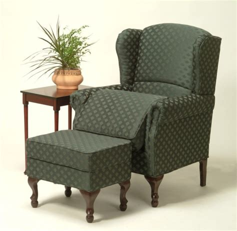 risedale lift seat adjustable wing chair ottoman in
