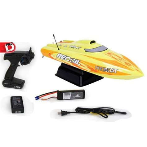 Pro Boat Rc by Recoil 26 Inch Self Righting Brushless V Rtr From Pro