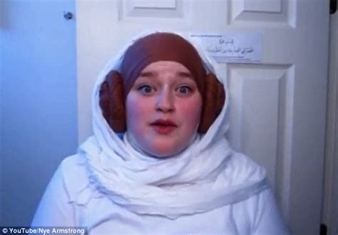 The Force is strong with this one! Girl transforms her