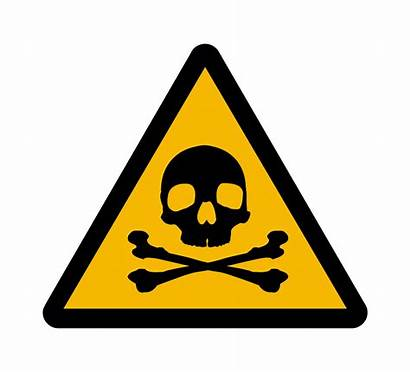 Toxic Chemical Hazardous Clipart Chemicals Warning Sign