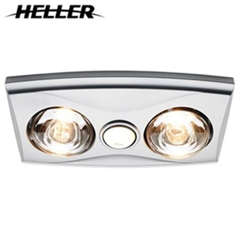 Bathroom Heat And Light by Buy 3 In 1 Bathroom Heater Light Exhaust Fan Silver