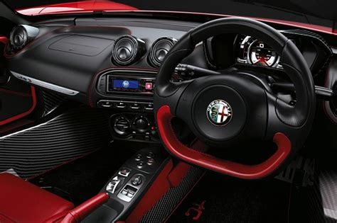 Alfa Romeo 4c Interior by 2016 Alfa Romeo 4c Spider