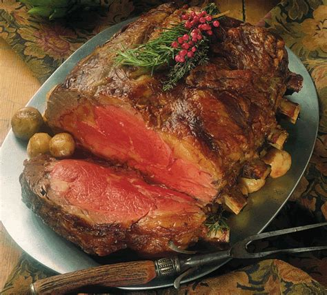cooking prime rib prime rib the perfect party food for festive friday the heritage cook