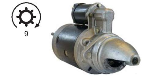 anlasser gabelstapler 12v 9z f towmotor t165 t180c t200c t250c m 304 v8 ihc 1109484 19310617