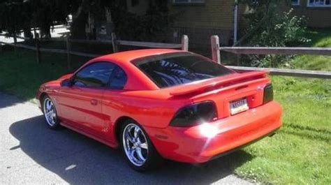 Sell Used 1995 Ford Mustang Gt Coupe 2-door 5.7 351w Not