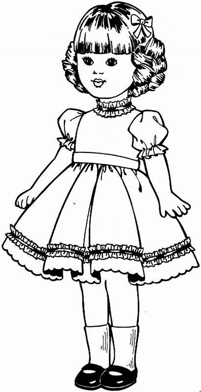 Maedchen Kleines Ausmalbilder Kinder Malvorlage Malvorlagen Doll