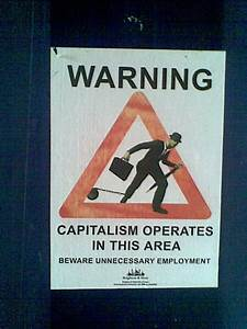 Image Gallery Capitalism Poster