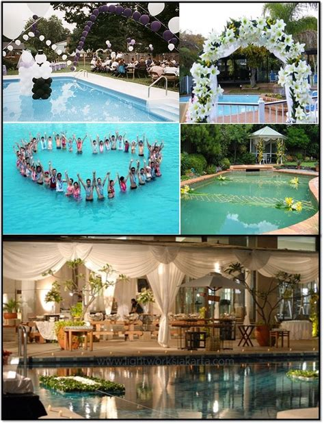 18 best pool wedding images on pool wedding 13th birthday and weddings