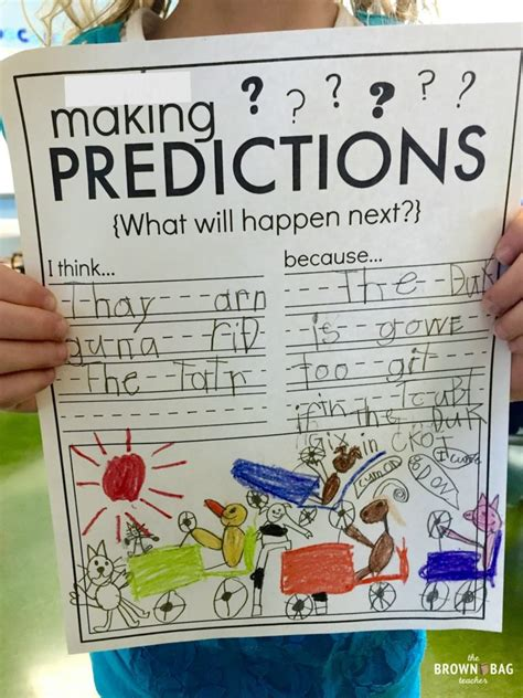 Making Predictions: 1st Grade Read Aloud - The Brown Bag ...