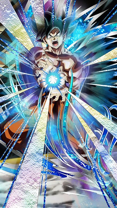 hope  ultra instinct goku dokkans     art