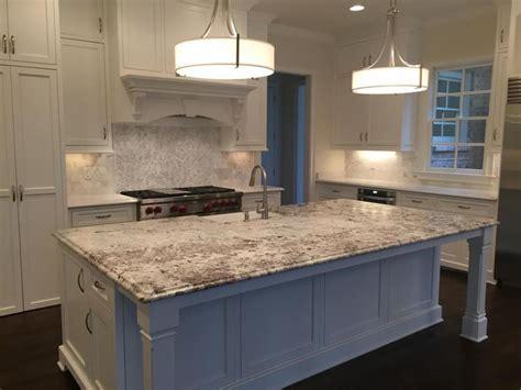 qualityingranitealaska whitekitchenisland  quality  granite  kitchen countertops