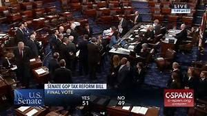 Tax Bill Vote – Late Night Senate Livestream – *Update ...