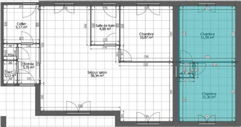 plan maison 騁age 4 chambres surélévation de 70 m sur une maison de 92 m tarn 81 12 messages