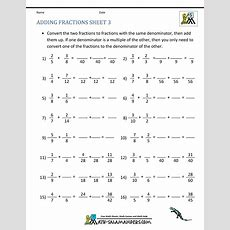 New 429 Fraction Worksheet For Grade 7  Fraction Worksheet