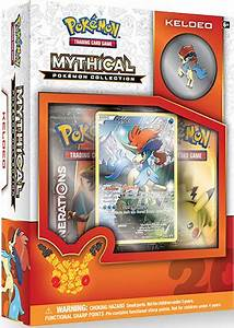 Rest of the Mythical Pokemon Collections + American ...