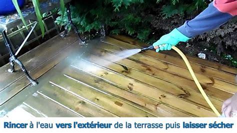 traiter une terrasse en bois nettoyer d 233 griser et prot 233 ger les bois de toutes essences