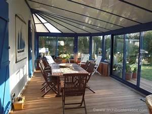 Comment Isoler Sol Pour Vérandas : v randa et plancher terrasse bois exotique int rieur et ~ Premium-room.com Idées de Décoration