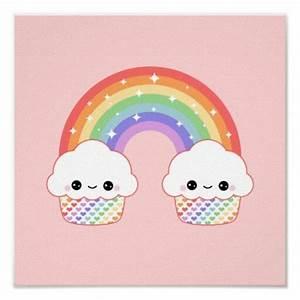 Kawaii Cupcakes and Rainbow Cuteness Pinterest