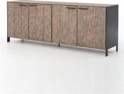 Metal Sideboard Buffet by Http Www Zinhome Dom Driftwood Metal 4 Door Buffet