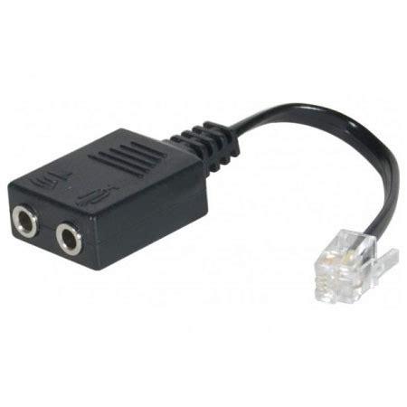quel bureau de poste adaptateur rj9 pour casque micro 3 5 mm câble rj11