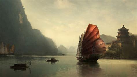 asian landscapes wallpaper asian wallpaper design