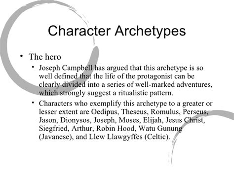 archetypal hero jung archetypes powerpoint