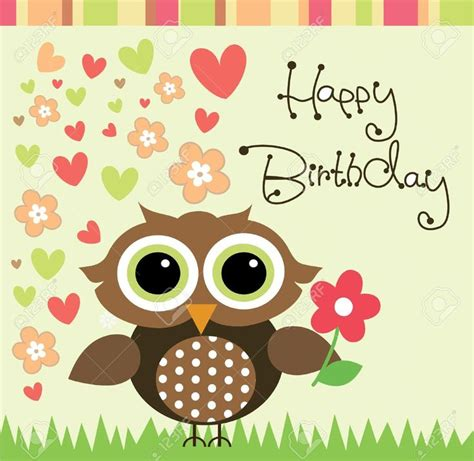 Happy Birthday Owl Images The 9 Best Images About Buho On Owl Cakes