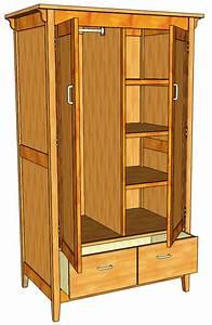 Woodwork Armoire Plans To Build PDF Plans