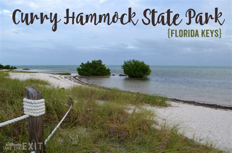 Hammocks State Park Reviews by Curry Hammock State Park Florida