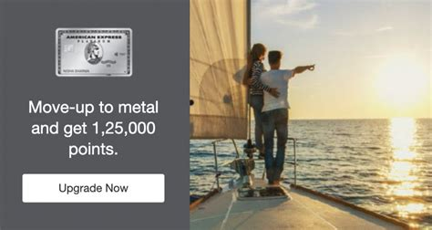 When you receive your new card, simply follow the. Amex Platinum Charge Card Upgrade Offer (125K Points ...