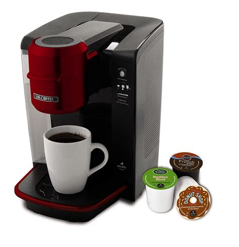 It alerts you about the empty water reservoir. Best Single Serve Coffee Maker Reviews (Find Best Coffee Maker)