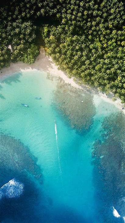 Iphone Nature Summer Wallpapers Beach Sea Plus