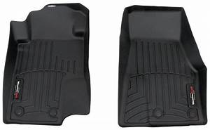 2012 Ford Mustang WeatherTech Front Auto Floor Mats - Black