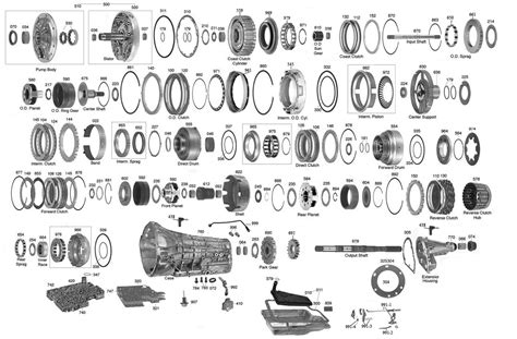 A4ld Transmission Overhaul Diagram by Ford E4od Transmission Diagram