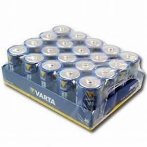 La Boite A Pile : pile varta d lr20 par boite de 20 ~ Dailycaller-alerts.com Idées de Décoration