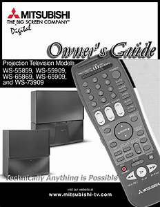 Mitsubishi Electronics Projection Television Ws