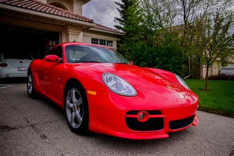 guards red porsche 2007 porsche cayman guards red rennlist discussion forums