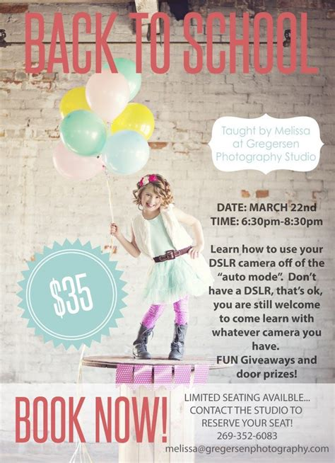 mommy photography class announced downtown