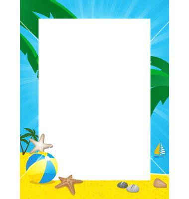 Best Summer Border Clip Art #8068 - Clipartion.com