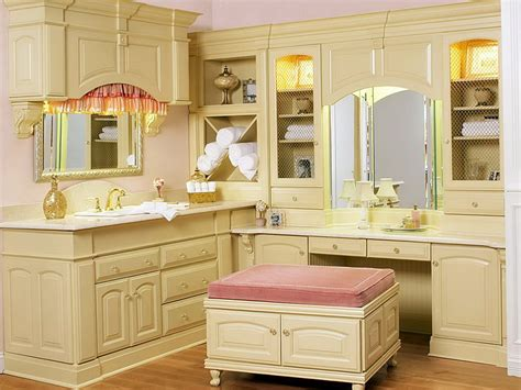 bathroom cabinets with makeup vanity makeup vanity cabinet style guru fashion glitz