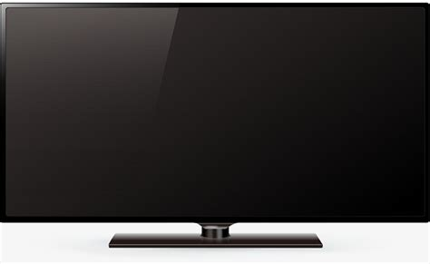 widescreen template png black widescreen tv black vector tv vector vector