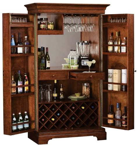 Wine Bar Furniture howard miller 695 114 barossa valley wine cabinet hide